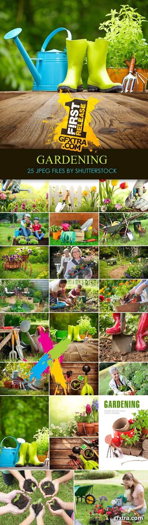 Stock Photo - Spring 2014 Gardening