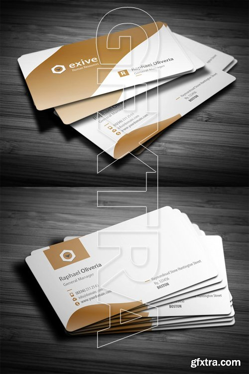 Clean Name Business Card Template