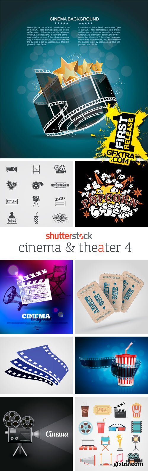 Amazing SS - Cinema & Theater (vol.4), 25xEPS