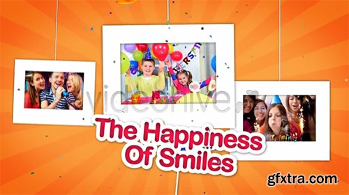Videohive Happy Birthday Celebrations Photo Gallery 6705955
