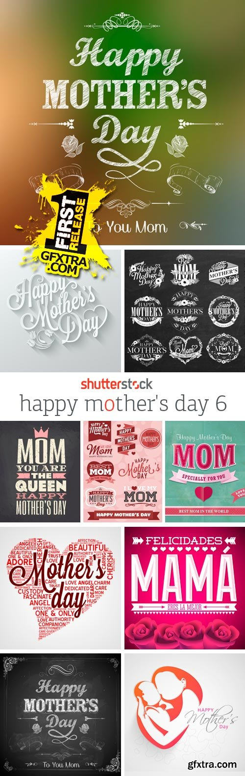 Amazing SS - Happy Mother's Day 6, 25xEPS