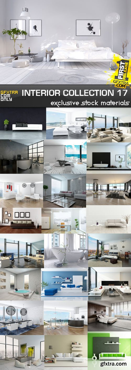 Collection of Interiors Vol.17, 25xUHQ JPEG