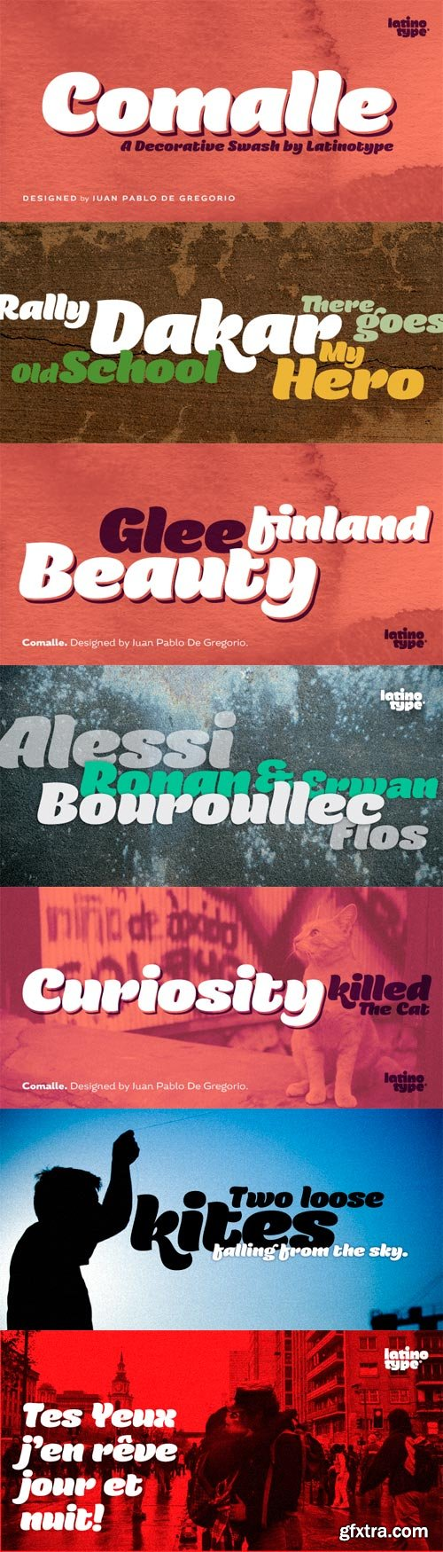 Comalle Font for $49
