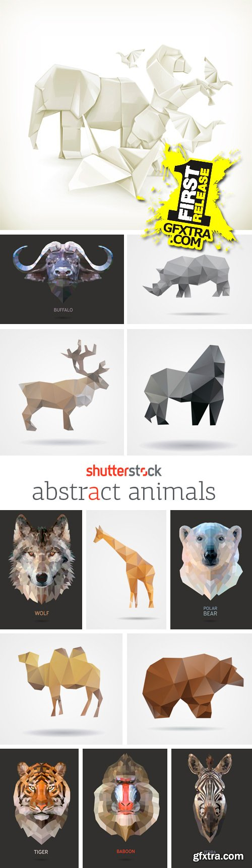 Amazing SS - Abstract Animals, 25xEPS