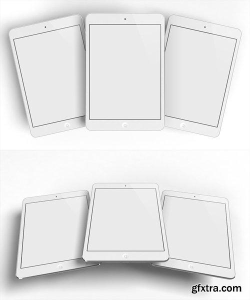 2 Creative Design iPad Mockup Templates