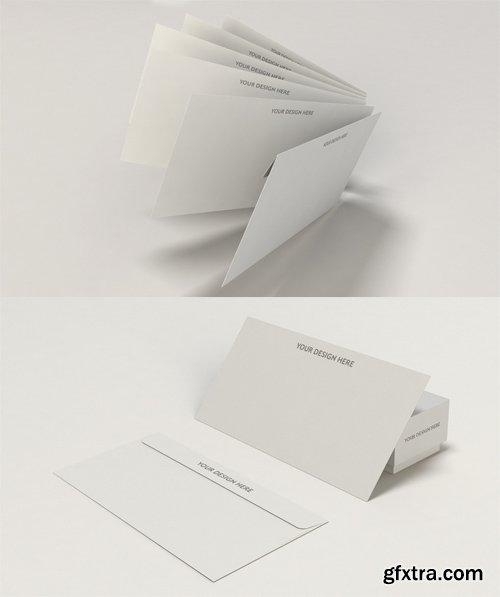 2 Envelope Mock up Templates