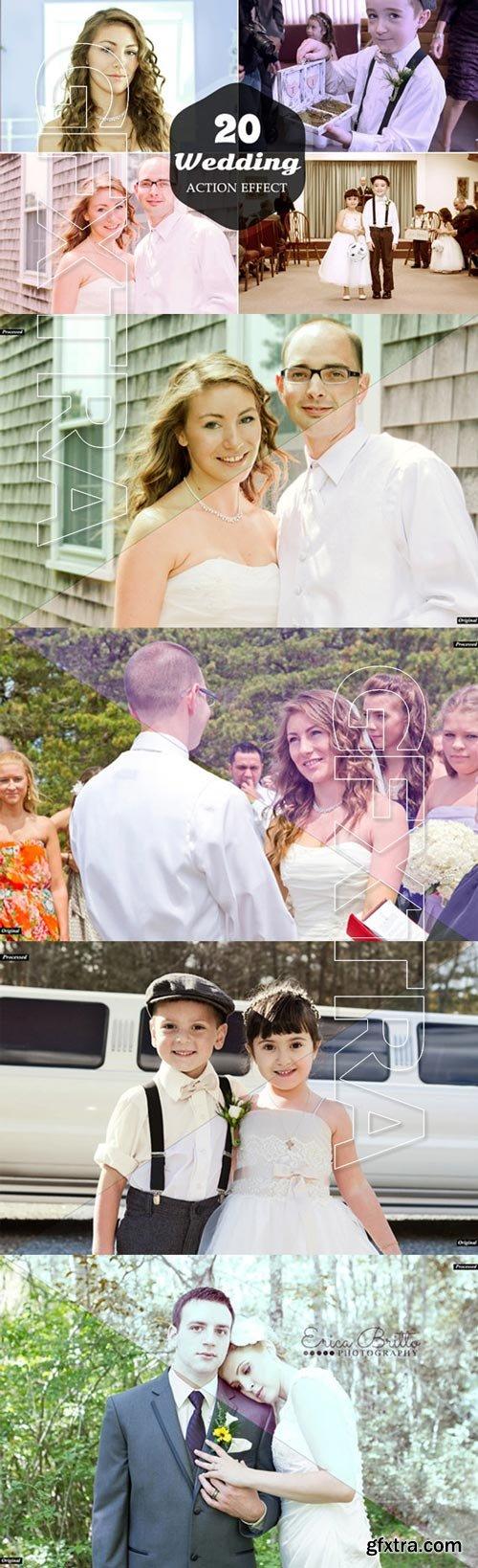 20 Wedding Action