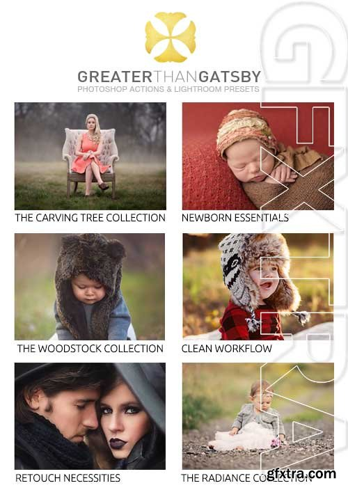 Greater Than Gatsby Photoshop Actions Set