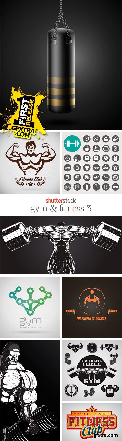 Amazing SS - Gym & Fitness 3, 25xEPS