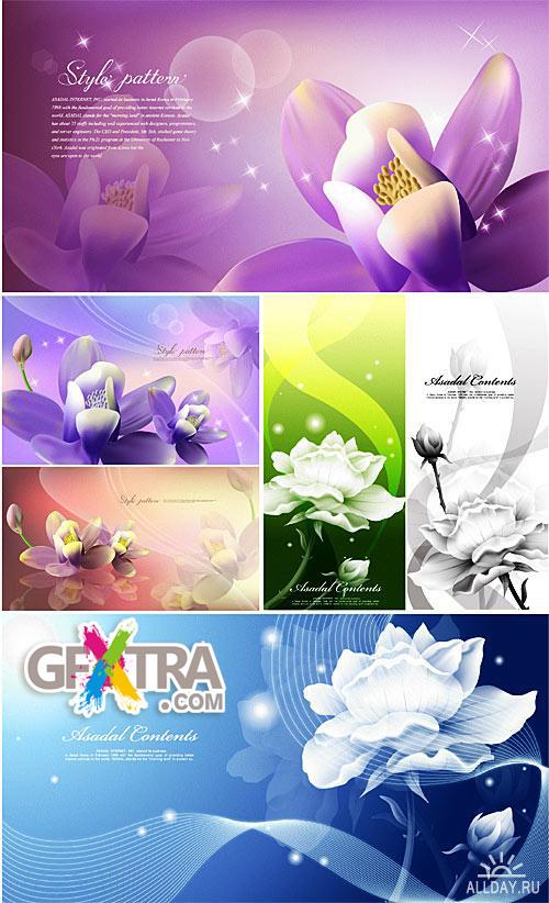 Floral backgrounds 3