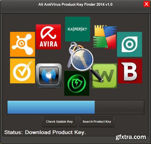 All AntiVirus Product Key Finder 2014 v1.0