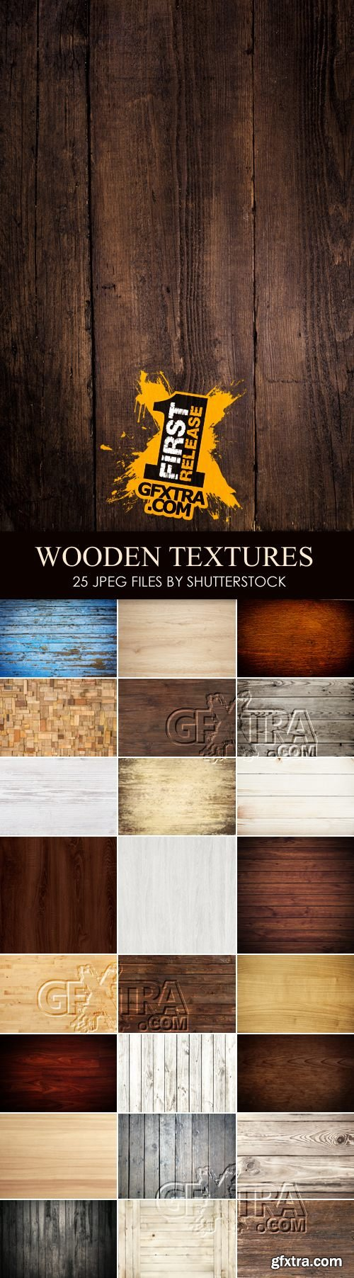 Stock Photo - High Quality Wooden Textures