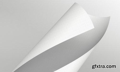 Folded Letterhead Mock up Template