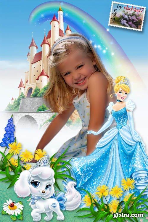 Children\'s Frame for girl\'s - Cinderella