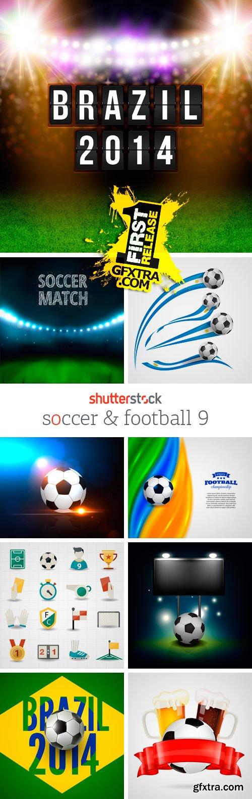 Amazing SS - Soccer & Football 9, 25xEPS