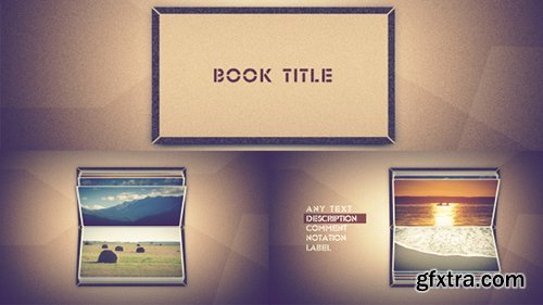 Videohive Photo Book Scrolling 6878729