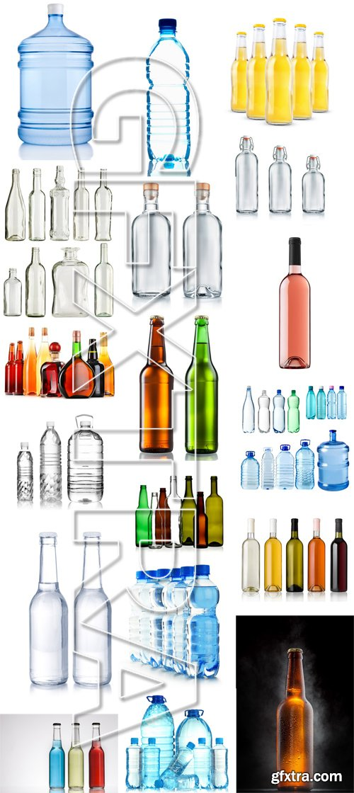 Stock Photos - Bottle With Water 2, 25xJPG