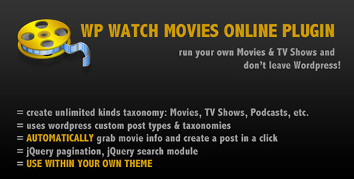 CodeCanyon - WP Watch Movies & TV Shows Online v1.0 » GFxtra