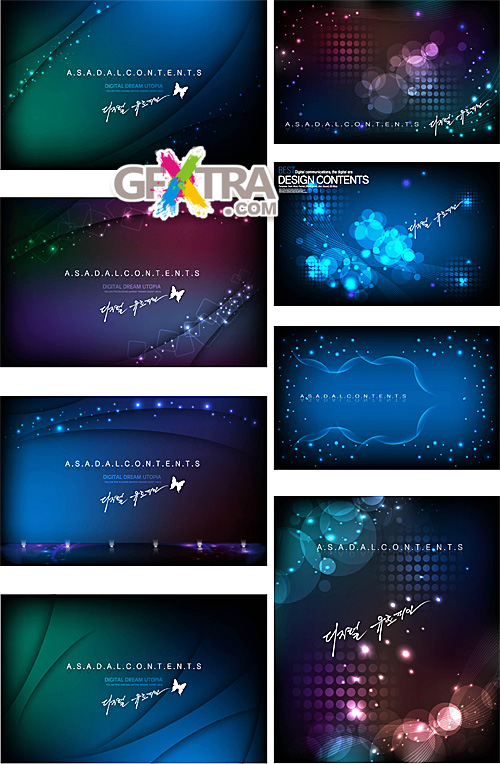 Dark abstract backgrounds 3