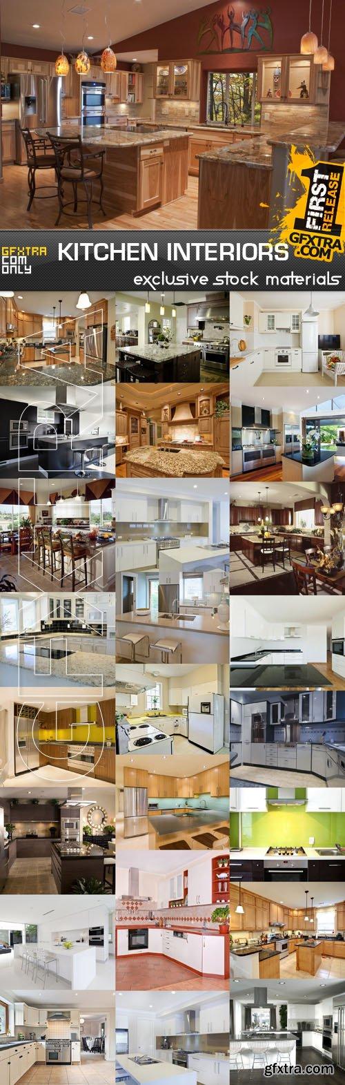 Kitchen Interiors, 25xUHQ JPEG