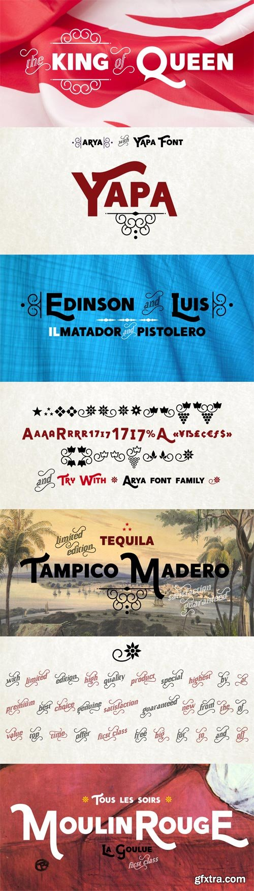 Yapa Font Family - 2 Fonts for $50