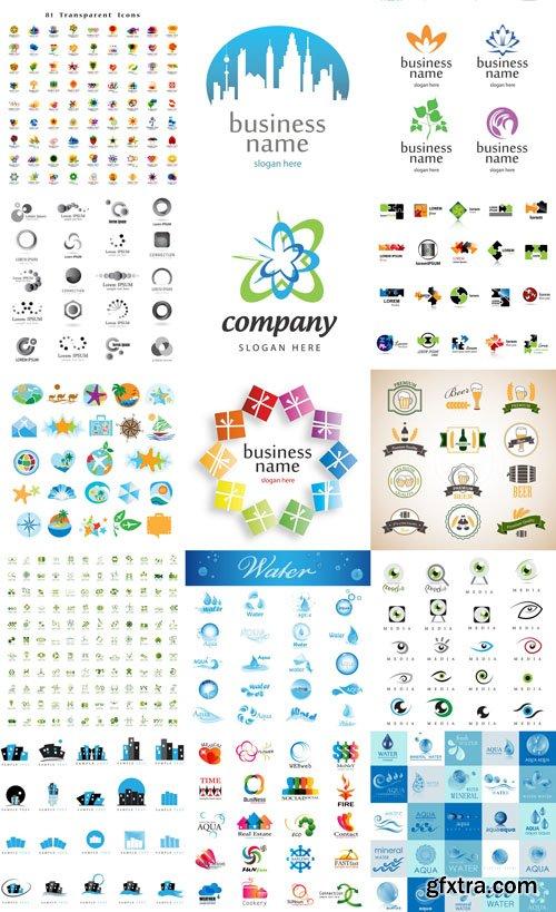Logo Collection #34 - 25 EPS, AI