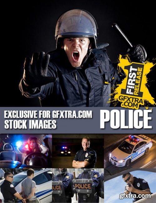 Stock Photos - Police, 25xJPG