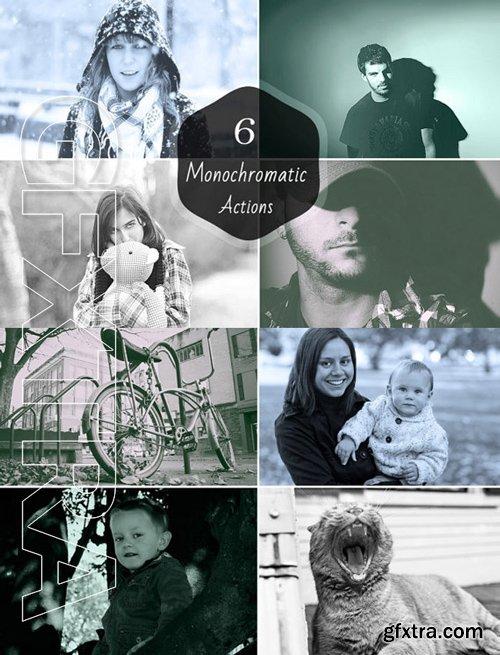 Monochromatic Actions