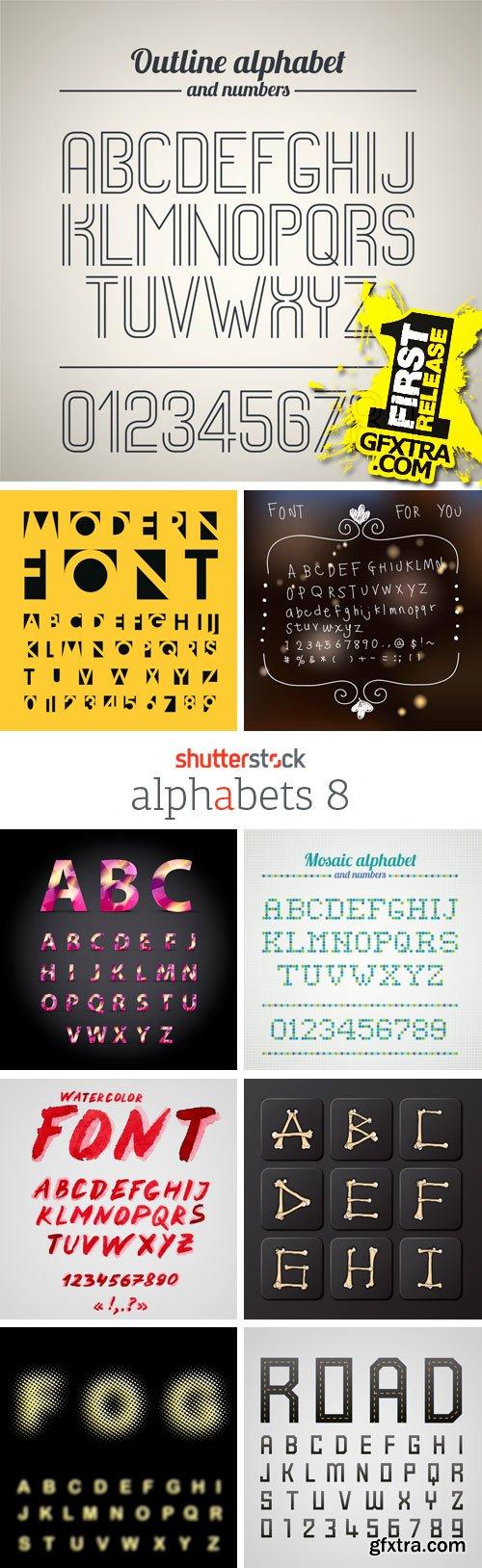 Amazing SS - Alphabets 8, 25xEPS