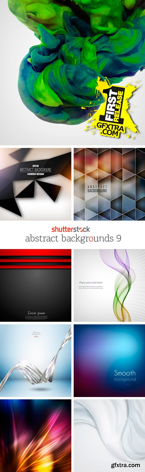 Amazing SS - Abstract Backgrounds 9, 25xEPS