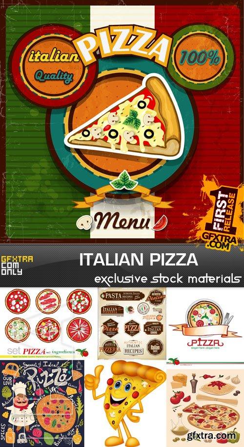 Italian Pizza, 25xEPS
