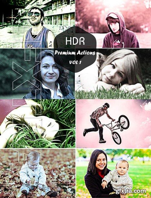 Premium HDR Actions Vol 1