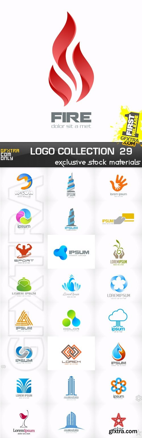 Collection of Logos vol.29, 25xEPS