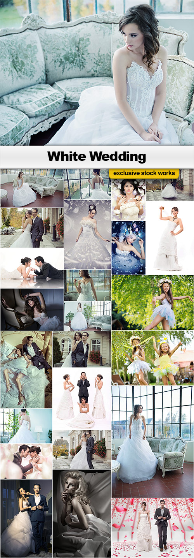 White Wedding - 25x JPEGs