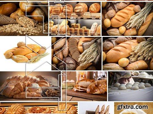 Stock Photos - Bread, 25xJPG