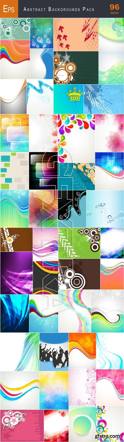 VectorCity Abstract Backgrounds Pack