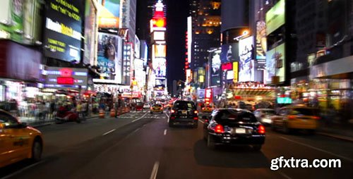 Videohive - Times Square New York City at night Full HD 115734