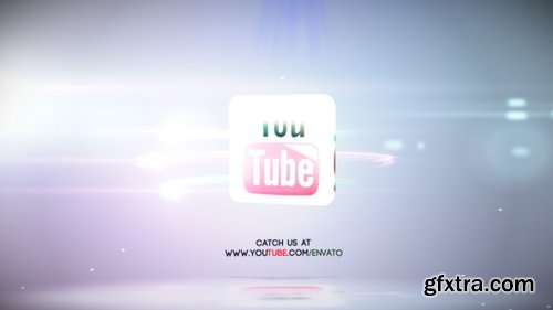 Quick Bright Streaks Logo Reveal - Videohive 7969750