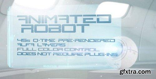 VideoHive Hologram Robot Eye 241320