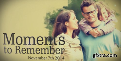VideoHive Moments to Remember 7700639