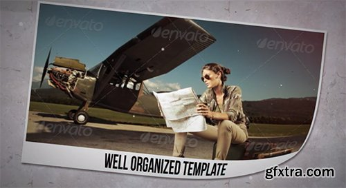 VideoHive Simple & Clean Paper Slideshow 7695474