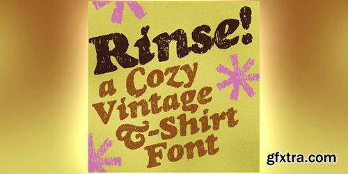 Rinse Font - 1 Font 30$