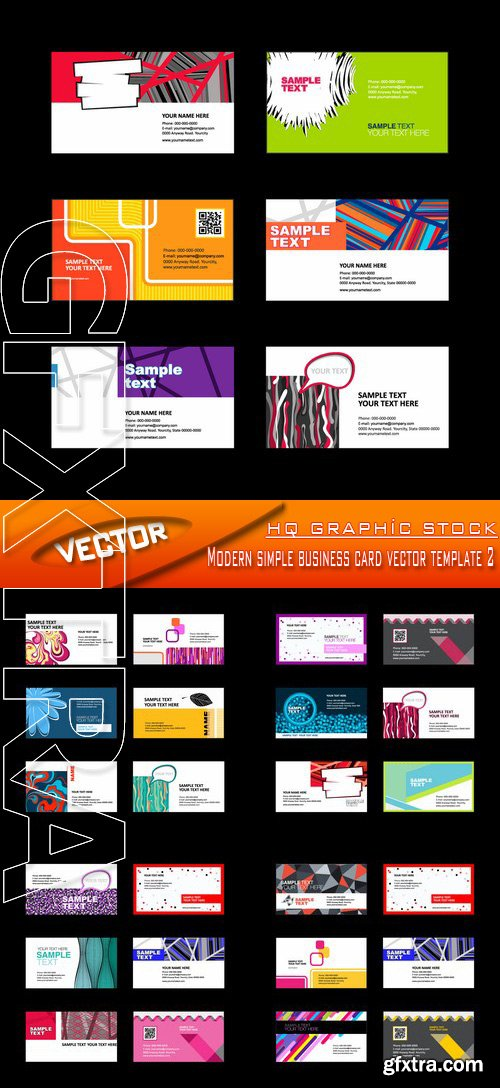 Business page 239 vector photoshop psdafter effects tutorials stock vector modern simple business card vector template 2 reheart Images