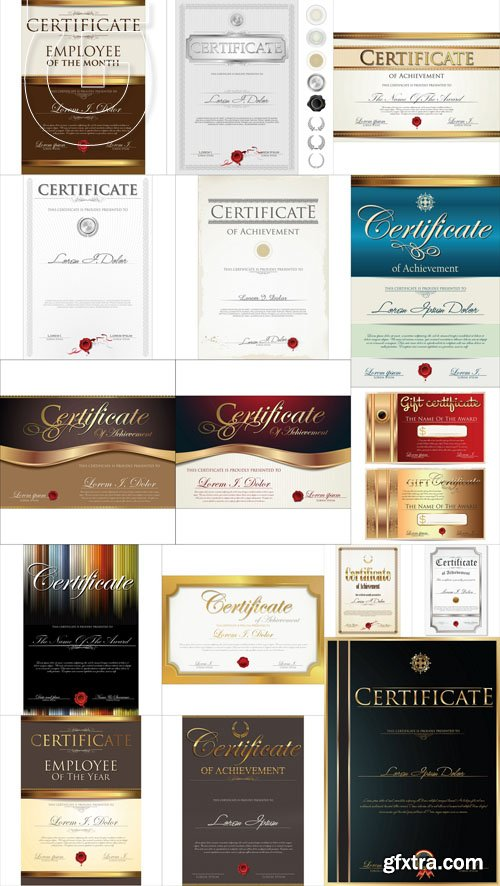 Certificate Collection 5, 25xEPS