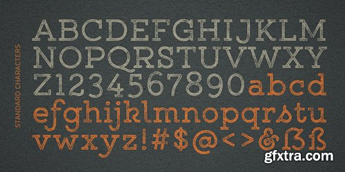 Yellow Design Gist Rough Font Family - 38 Font 760$