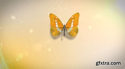 Videohive Butterfly Logo Reveal 6063266