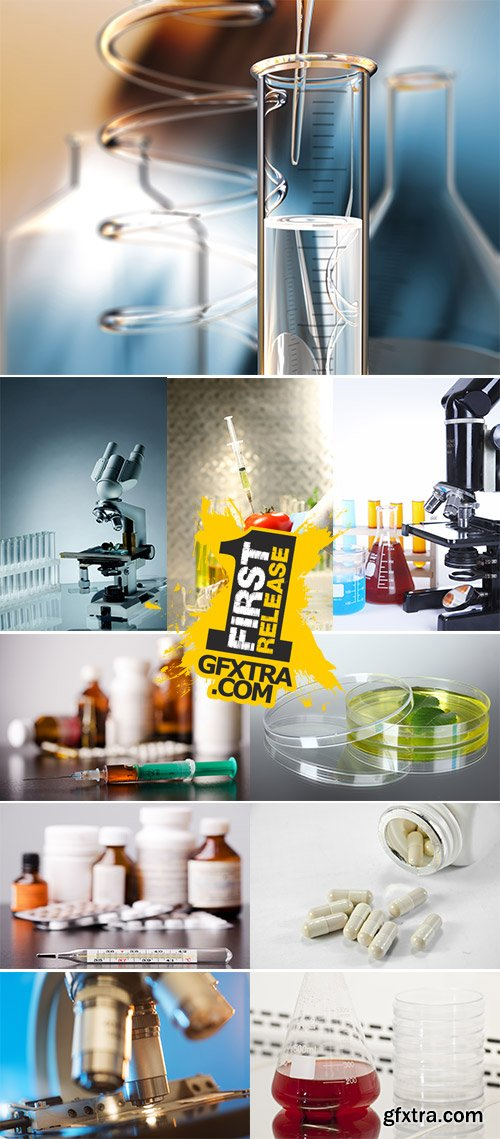 Stock Photo: Science Stills