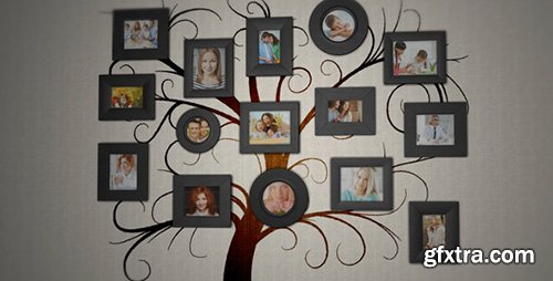 Videohive Family Tree Photo Album 7292973