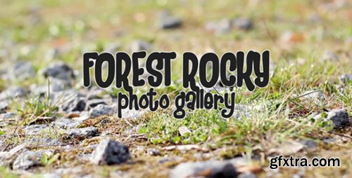 Videohive Forest Rocky Photo Gallery 7724075