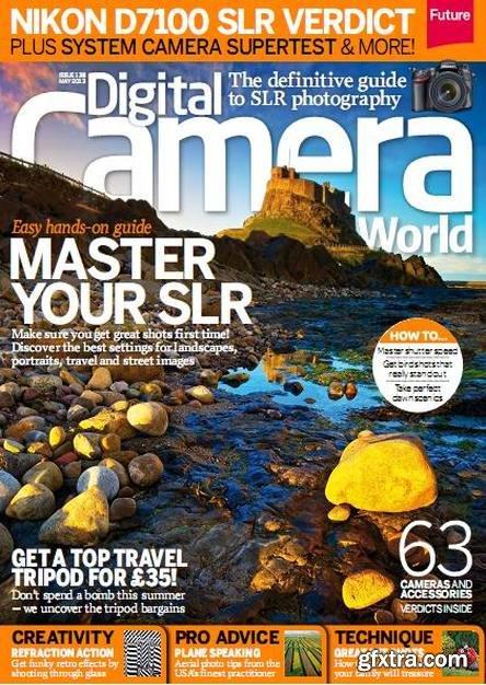 Digital Camera World Magazine May 2013 (TRUE PDF)